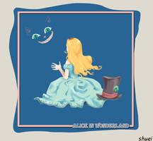 Alice in wonderladn by orangeneedle