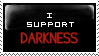 I support Darkness Stamp by Rikku2011