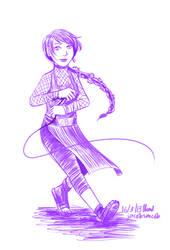 Katsuo Sketch by jacobsmacob
