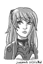 Asuka pixel by jacobsmacob