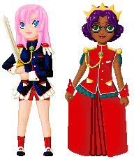 Utena and Anthy by jacobsmacob