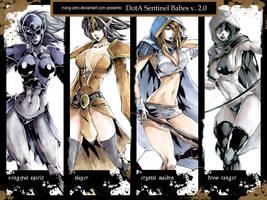 DotA Sentinel Babes v.2 YAY by irving-zero