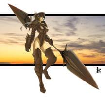 Battle Maiden by irving-zero