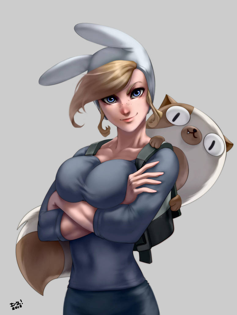 Fionna and Cake by irving-zero