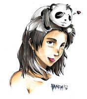 hello panda by irving-zero