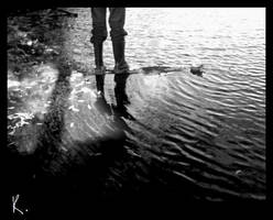 Walking on water. by withak
