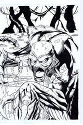 Creature from the Black Lagoon by ComicInks
