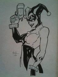 Turner Harley Quinn by ComicInks