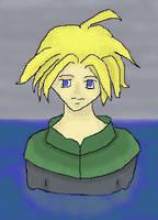 He looks like Cloud by Dasalai