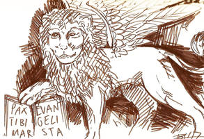 Venice Lion 1 by Sheevee