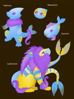 Art Trade: Ginnymon2 by Sheevee
