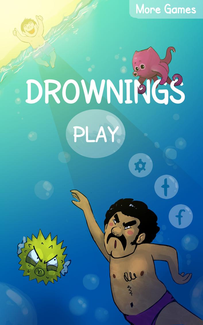 Drownings Titlescreen by Sheevee