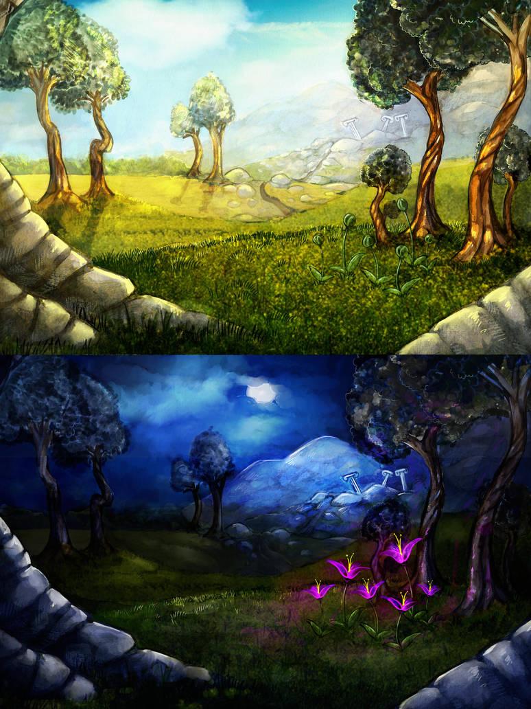 Elarooh - Meadow by Sheevee