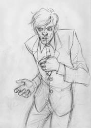Sketch Commission: Heysawbones by Melna