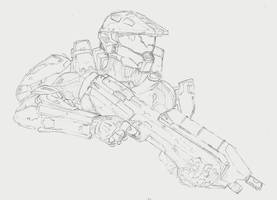 Master Chief by Repeat-Offender
