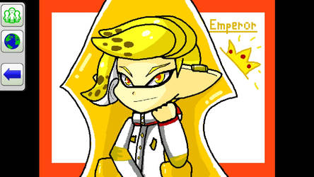 the king of the squids by Maria-Elite-Koopa