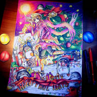 merry christmas! Original FanArt by arpegius1997