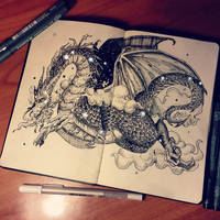 Rise like a dragon by arpegius1997