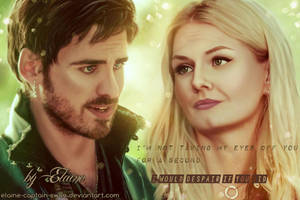 I'm not taking my eyes off you... by Elaine-captain-swan