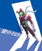 Kamen Rider Stronger by jdcunard