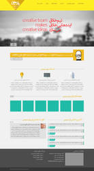 Parsis Advertising Agency website by oreallove