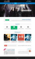 Niloofar Abi Website by oreallove
