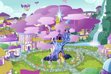 Twilight's Castle by Roseyicywolf