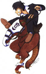 Why Wolfwood rides a bike by julewooster