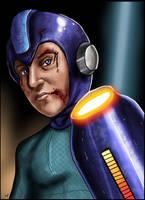 Mega Man by HeroforPain