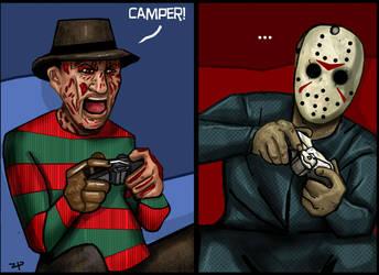 Freddy vs. Jason : Call of Duty by HeroforPain