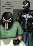 Bane and Venom by HeroforPain