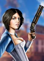 Bioshock Infinite - Elizabeth by HeroforPain