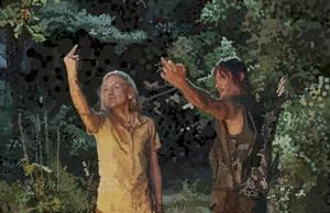 The Walking Dead - Still - Epic Dots by HeroforPain