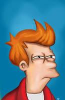 Fry - Futurama by HeroforPain