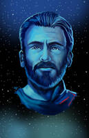Infinity War - Captain America by HeroforPain