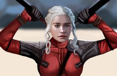 Daeneryspool by HeroforPain