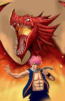 #19 Natsu and Igneel by HeroforPain