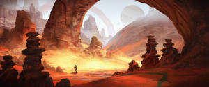 Red Planet by eddie-mendoza