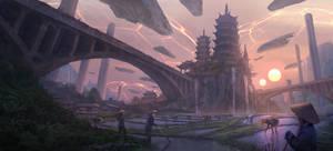 New Walled Empire by eddie-mendoza