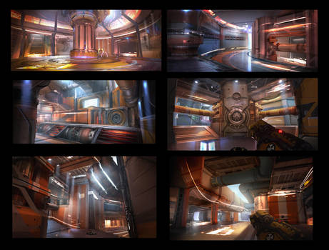 Unreal Tournament - Hydraulics by eddie-mendoza