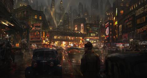The Boulevard by eddie-mendoza