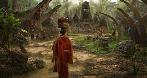 Dragon Village by eddie-mendoza