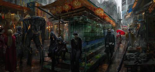 Cyber Bazaar by eddie-mendoza