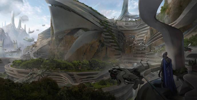 Minas Tirith by eddie-mendoza