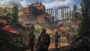 Mining Town by eddie-mendoza