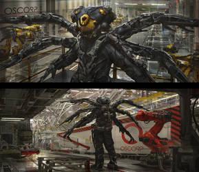 Dr. Octopus by eddie-mendoza