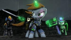 [SFM Ponies] FO:E - Lone Wolf by FD-Daylight