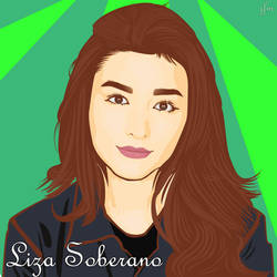 Liza Soberano #1 vector art by atjfm