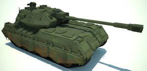 Heavy tank by flaketom