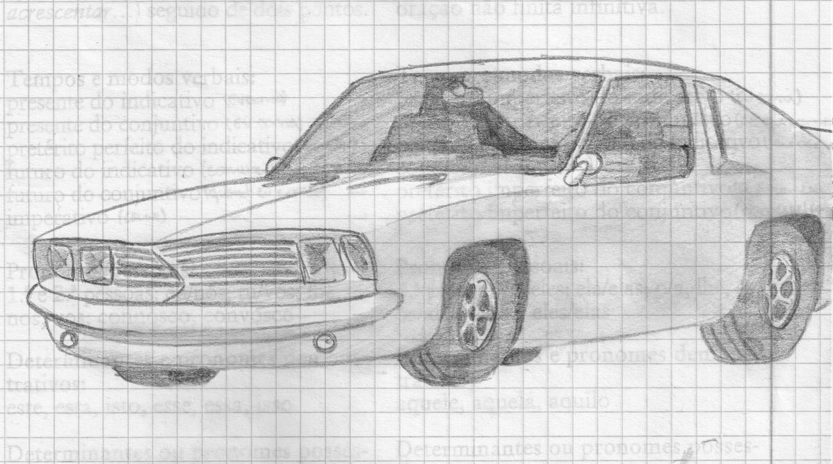 Random Muscle Car Sketch By Theportugueseplayer On Deviantart